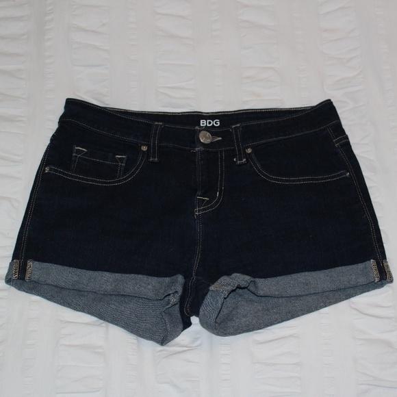 BDG Pants - BDG Dark Wash Denim Shorts